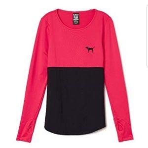 Victoria's secret varsity pink long sleeve top